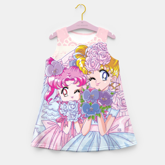 Miniature de image de Sailor Moon Usagi & Chibiusa Girl's Summer Dress, Live Heroes