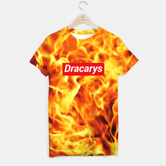 Game of Thrones Supreme Dracarys Koszulka obraz miniatury