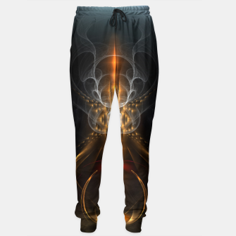 Thumbnail image of Lightasm Swirl Fractal Art Sweatpants, Live Heroes