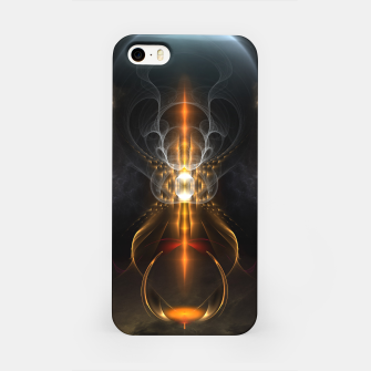 Thumbnail image of Lightasm Swirl Fractal Art iPhone Case, Live Heroes