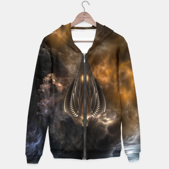 Thumbnail image of Light Of The Spear Fractal Art Hoodie, Live Heroes
