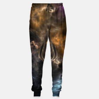 Thumbnail image of Light Of The Spear Fractal Art Sweatpants, Live Heroes