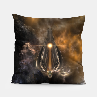 Thumbnail image of Light Of The Spear Fractal Art Pillow, Live Heroes