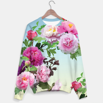 Thumbnail image of  Chinese Peonies Sweater, Live Heroes
