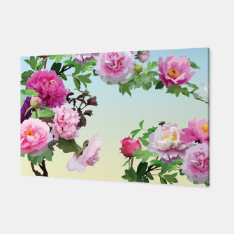 Thumbnail image of  Chinese Peonies Canvas, Live Heroes