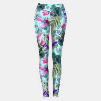 "Miniatur ""Summer flowers"" Leggings, Live Heroes"