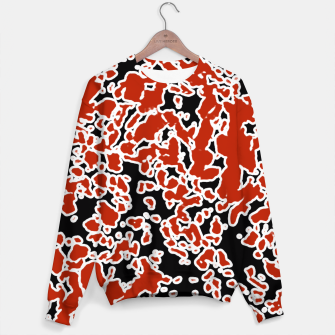 Thumbnail image of Splatter Abstract Texture Sweater, Live Heroes