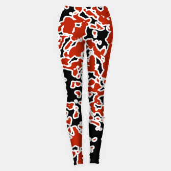 Thumbnail image of Splatter Abstract Texture Leggings, Live Heroes