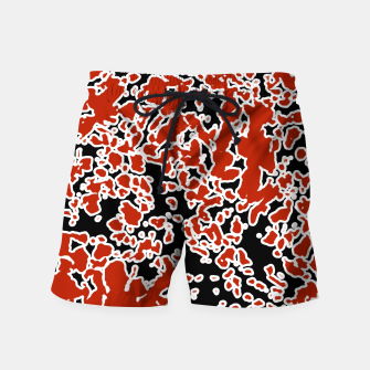 Thumbnail image of Splatter Abstract Texture Swim Shorts, Live Heroes