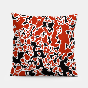 Thumbnail image of Splatter Abstract Texture Pillow, Live Heroes