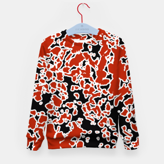 Thumbnail image of Splatter Abstract Texture Kid's Sweater, Live Heroes