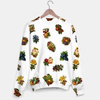 Vintage Fruits & Flowers Sweater thumbnail image