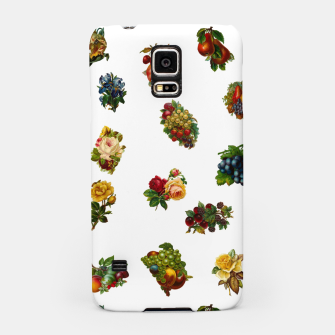 Vintage Fruits & Flowers Samsung Case thumbnail image