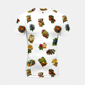 Vintage Fruits & Flowers Shortsleeve Rashguard thumbnail image