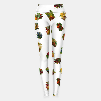 Vintage Fruits & Flowers Leggings thumbnail image