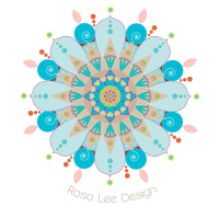 Rosa Lee Design logo