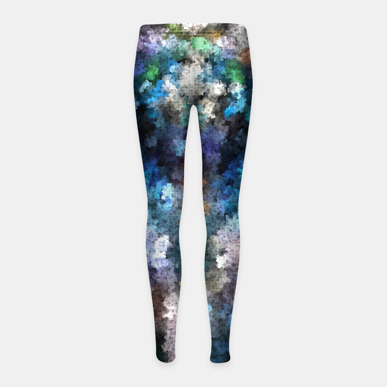 Image of TTEQOTGCubism Girl's Leggings - Live Heroes