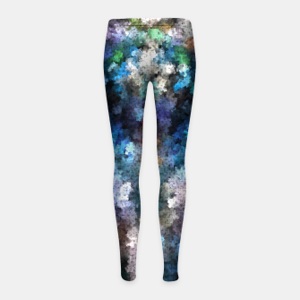 Thumbnail image of TTEQOTGCubism Girl's Leggings, Live Heroes