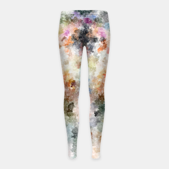 Thumbnail image of TTEQOTGCubismINV Girl's Leggings, Live Heroes