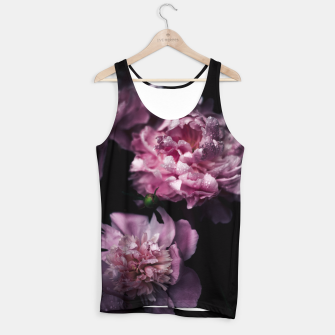 Thumbnail image of Peonies Dark Tank Top, Live Heroes