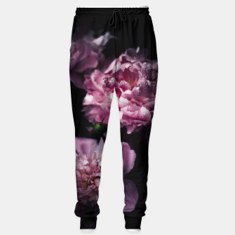 Thumbnail image of Peonies Dark Sweatpants, Live Heroes
