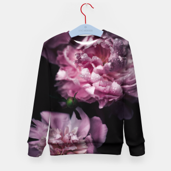 Thumbnail image of Peonies Dark Kid's Sweater, Live Heroes
