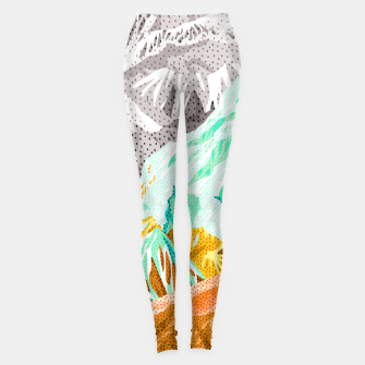 Thumbnail image of Patterns in spring mountain I Leggings, Live Heroes