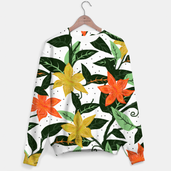 Thumbnail image of Tropical Rainforest Sweater, Live Heroes