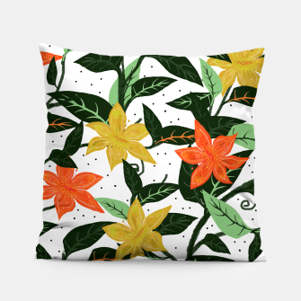 Thumbnail image of Tropical Rainforest Pillow, Live Heroes