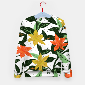 Thumbnail image of Tropical Rainforest Kid's Sweater, Live Heroes