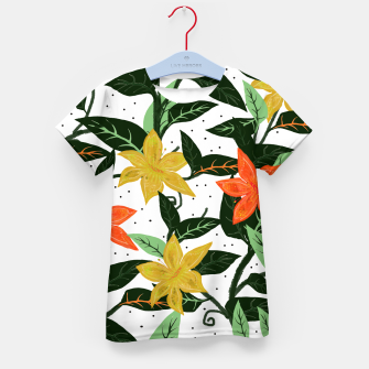 Thumbnail image of Tropical Rainforest Kid's T-shirt, Live Heroes