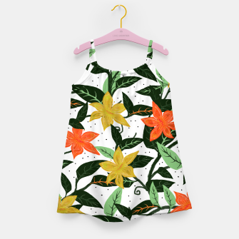 Thumbnail image of Tropical Rainforest Girl's Dress, Live Heroes