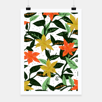 Thumbnail image of Tropical Rainforest Poster, Live Heroes