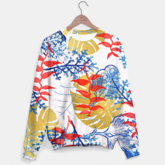Thumbnail image of Budding Romance Sweater, Live Heroes