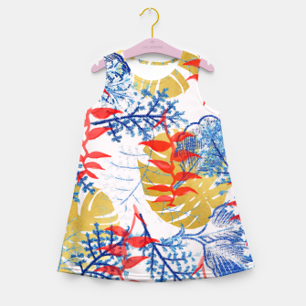 Thumbnail image of Budding Romance Girl's Summer Dress, Live Heroes
