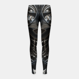 Thumbnail image of Arsencia EGCLGSSED Girl's Leggings, Live Heroes
