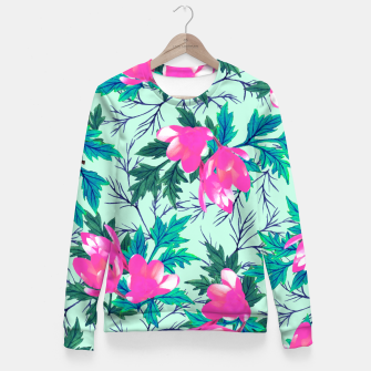 Thumbnail image of Summer Garden Fitted Waist Sweater, Live Heroes