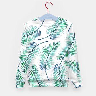 Thumbnail image of Palms Kid's Sweater, Live Heroes