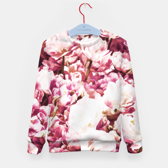 Thumbnail image of Pink Mood Kid's Sweater, Live Heroes