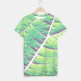 Thumbnail image of Leaf Detail T-shirt, Live Heroes