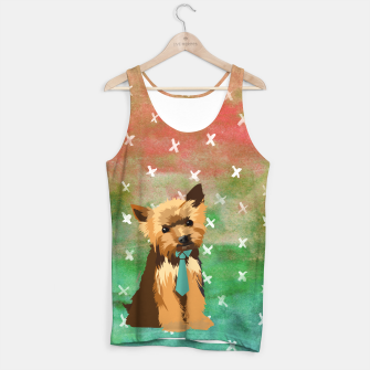 Thumbnail image of Yorkshire Terrier Watercolour Tank Top, Live Heroes