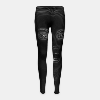 Thumbnail image of Shadow Beauty Girl's Leggings, Live Heroes