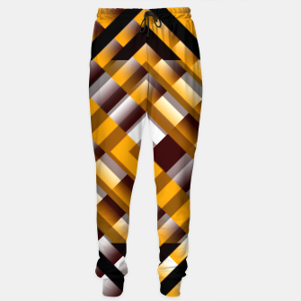 Thumbnail image of Mask Pattern Highpass Sweatpants, Live Heroes