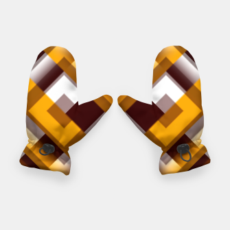 Thumbnail image of Mask Pattern Highpass Gloves, Live Heroes