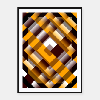 Thumbnail image of Mask Pattern Highpass Framed poster, Live Heroes