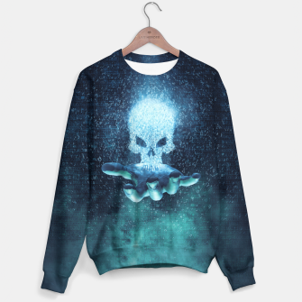 Thumbnail image of Binary Oblivion Sweater, Live Heroes