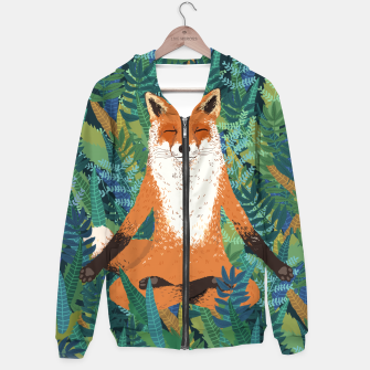 Thumbnail image of Fox Yoga Hoodie, Live Heroes
