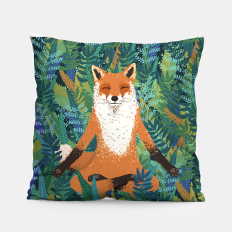 Thumbnail image of Fox Yoga Pillow, Live Heroes