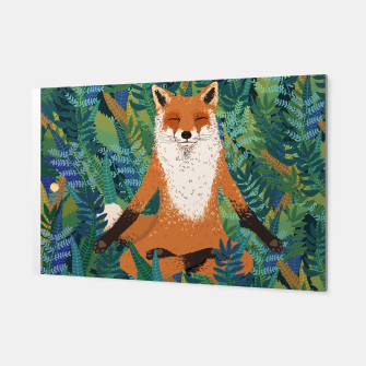 Thumbnail image of Fox Yoga Canvas, Live Heroes