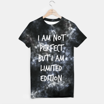Imagen en miniatura de I am not perfect but I am limited edition T-shirt, Live Heroes